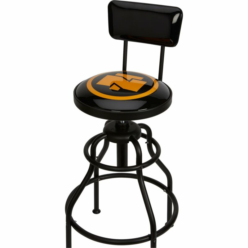Pneumatic Stool w/Backrest #710018