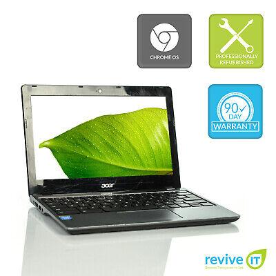 """Acer Chromebook C720 11.6"""" Celeron 2955U 1.4GHz 2GB 16GB Grade C"""
