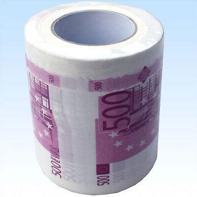 Toilettenpapier 500 Euro Klopapier Toilette WC Papier Tuch Hygienetuch Geschenk