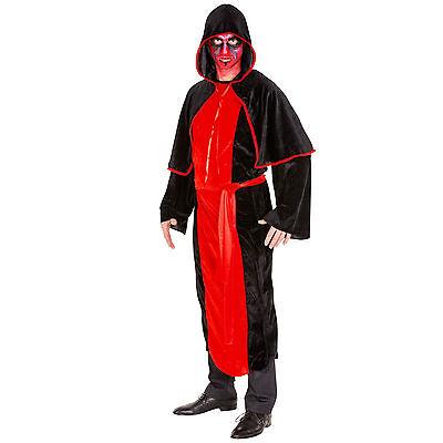 m Zombie Anzug Karneval Fasching Halloween Gothic Gewand Cape (Gothic Vampir Herren Halloween-kostüm)