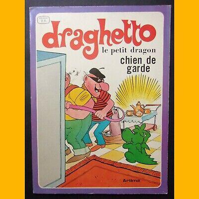 DRAGHETTO LE PETIT DRAGON Chien de garde 1979