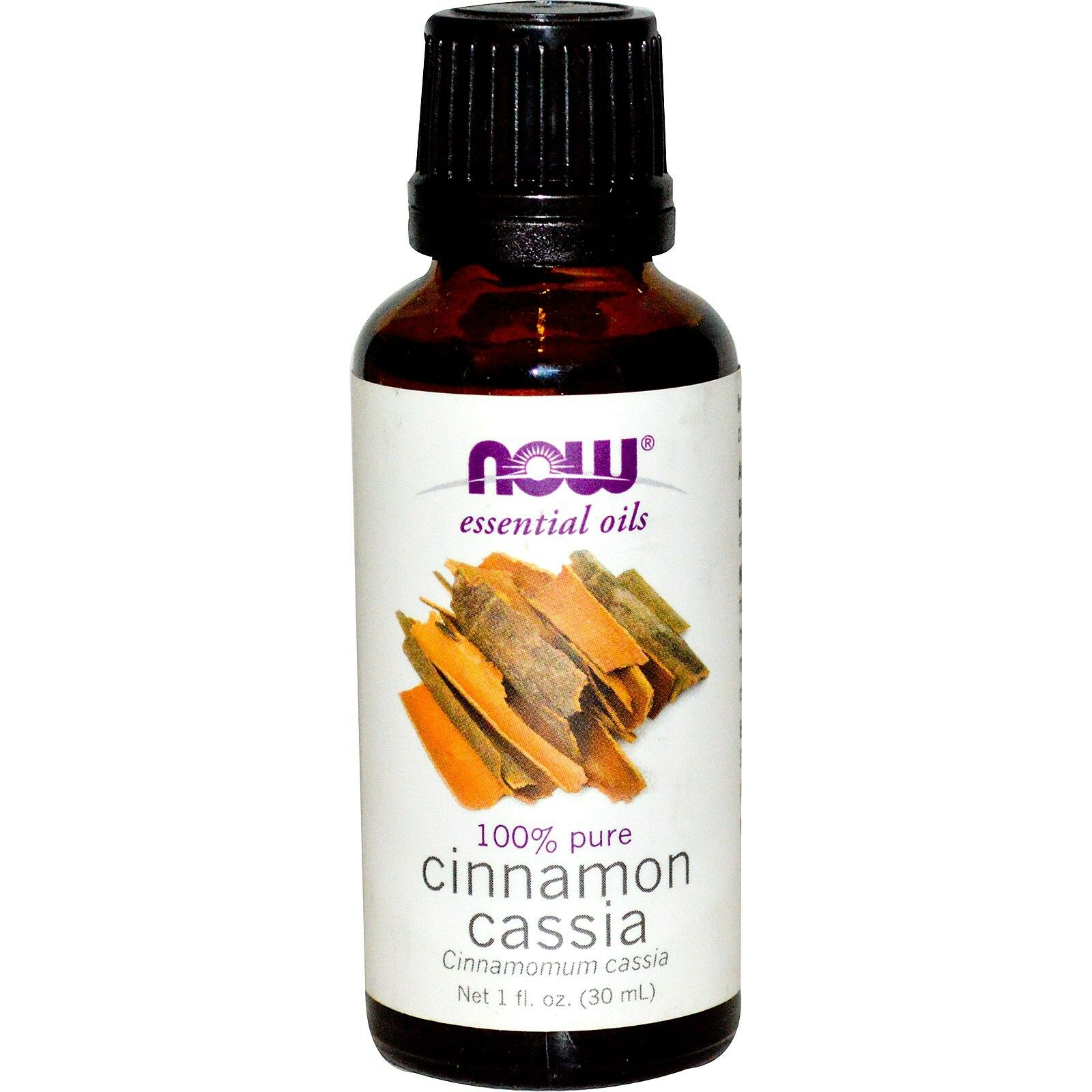 NOW Foods 1 oz Essential Oils and Blend Oils - FREE SHIPPING! Cinnamon Cassia
