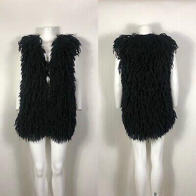 Rare Vtg Maison Martin Margiela AW2003 Wool & Alpaca Black Vest M