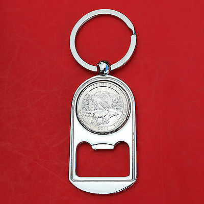 (2011 Washington Olympic National Park Quarter Bottle Opener NEW )