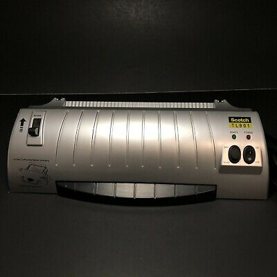 Scotch Thermal Laminator Tl901 3-mil 5-mil