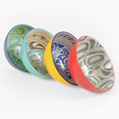 Northwest Coast Native Porcelain Art Bowls
