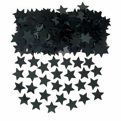 Negro Confeti Estrella Boda Brillante Metálico Hollywood Decoración Fiesta 3 De