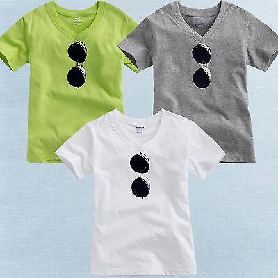 """Vaenait Baby Toddler Kids Boy Unisex V-Neck Top T-Shirts """" S"""