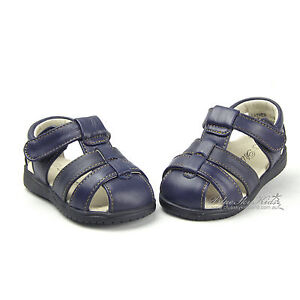 Blueskykidsland New Kids/Boys Leather Sandals/Shoes sz 3-9 Brown-Black-Navy
