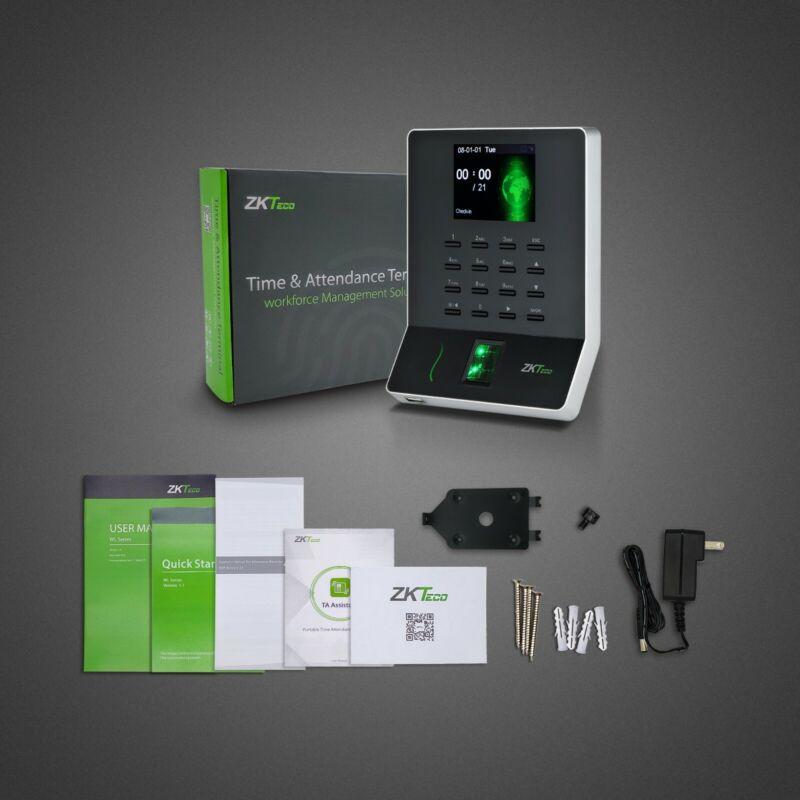 ZKteco Fingerprint Time Recorder No Fee Time Clock Download
