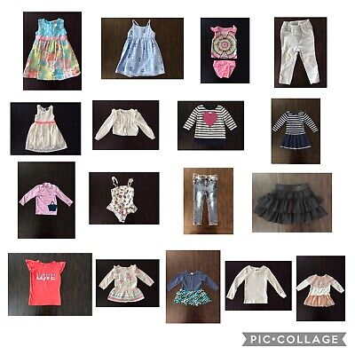 Lot of 17 Girls 2T Designer Clothes Ralph Lauren Betsy Johnson Nautica ToobyDoo