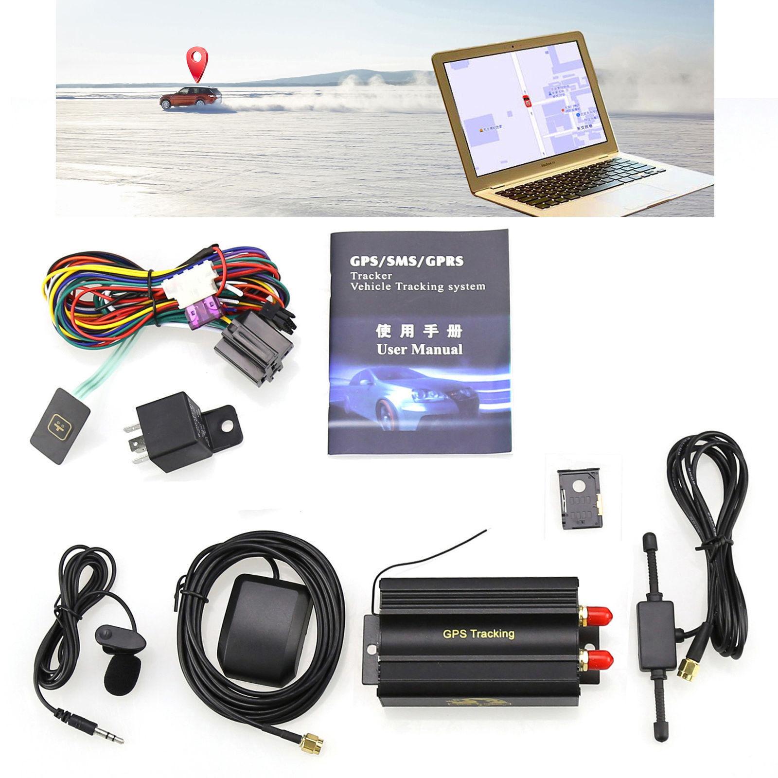 New GSM / GPS / GPRS Car Tracker Vehicle GPS103A TK103A Alar