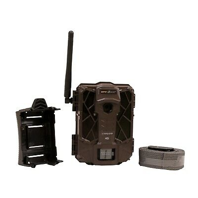 Spypoint Mobile Verizon 4G Cellular 12MP HD Video Game Trail Camera - LINK-EVO-V