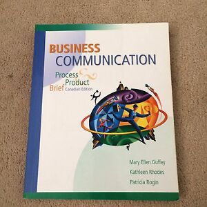 business communication process and product 5th brief canadian edition pdf