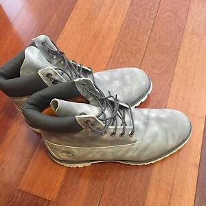 Timberland Prem Boot Marble Grey - Size 11 US Bankstown Bankstown Area Preview