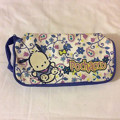 Vintage Sanrio 1999 pochacco dog pencil case/bag pouch