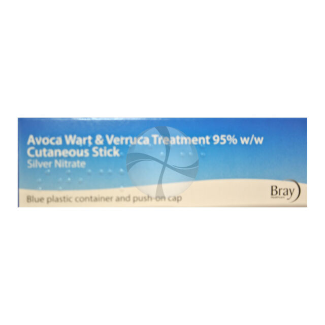 Avoca Wart & Verruca Treatment Human Silver Nitrate pencil full kit caustic 95%