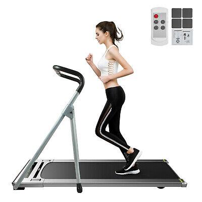 Electric Treadmill 2in1 Under Desk Treadmills Fitness App Control Remote Control