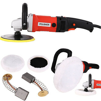 Car Polisher 1400W 220V Adjustable Floor Polishing Machine Sander Car Paint Care