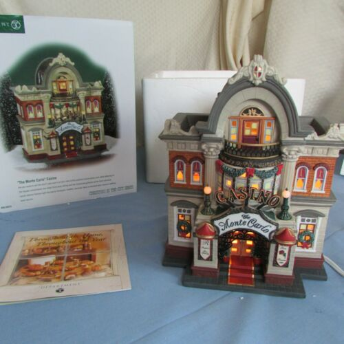 """Dept 56 Christmas in the City """"The Monte Carlo"""" Casino"""
