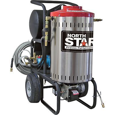 Northstar Electric Wet Steam Hot Water Pressure Washer- 2750 Psi 2.5 Gpm 230v