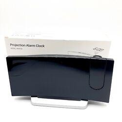 7''Digital Alarm Clock Projection LED Dual Alarms Snooze AM FM USB Charging Port