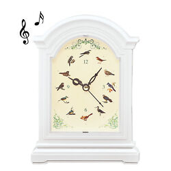 Chirping Birds Tabletop Clock with Sounds