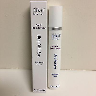 Obagi Gentle Rejuvenation Ultra Rich Eye Hydrating Cream 0.5 oz  Brand New