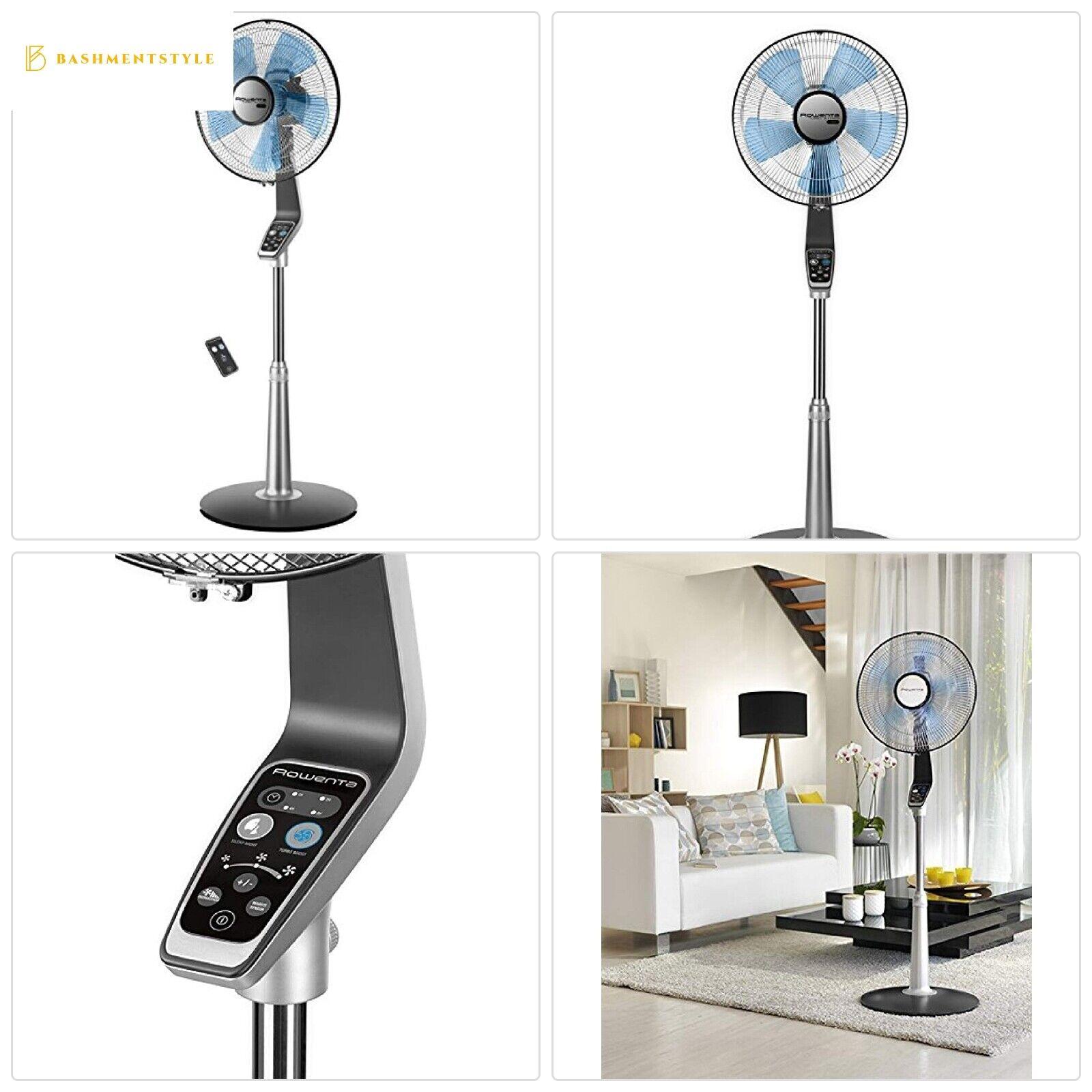 Rowenta VU5670 Turbo silence Stand Fan Oscillating Fan with