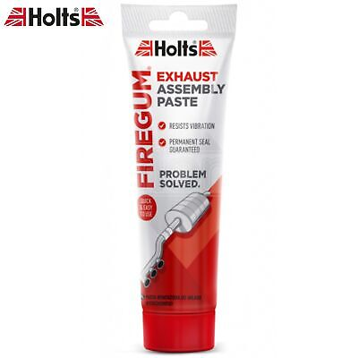 Holts Fire Gum Gun Exhaust Silencer Pipe Assembly Joints Seals Paste Putty 150g