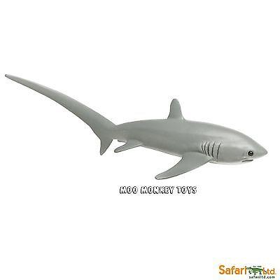 THRESHER SHARK Safari Ltd #200229  Ocean Sea  Animal Replica collectible toy NWT