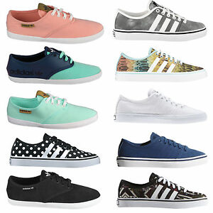 adidas adria womens sneakers low cut trainers low shoes
