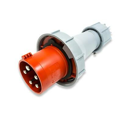 PCE 63A 3P + N + E 400V. 3 Fase Rojo Cable...