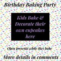 Birthday Baking Party in Wellesley