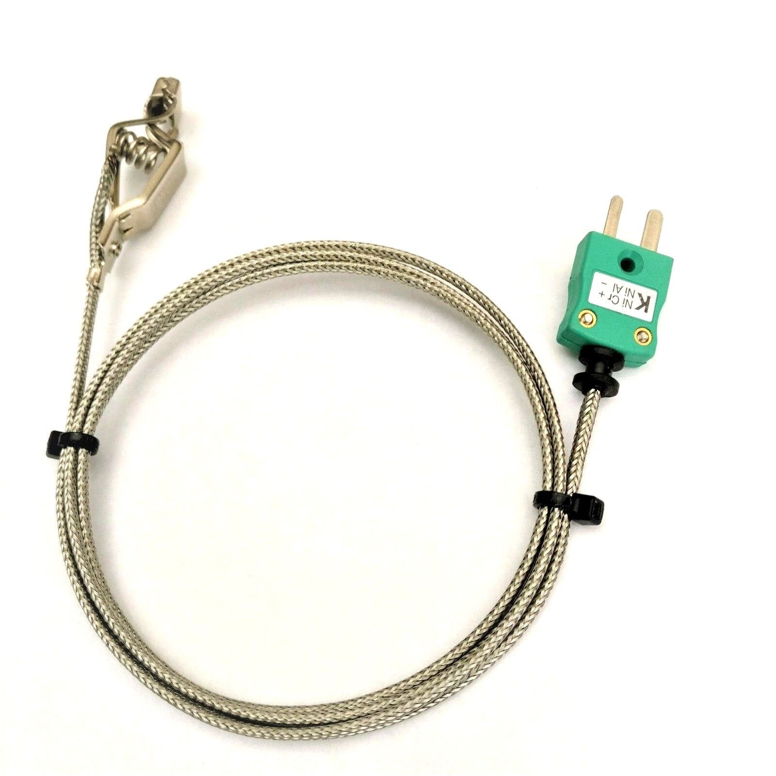 Type k wire air/gas sensor/probe with clip for ovens/fridges