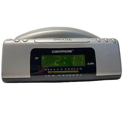 Conair Phone Alarm Clock AM/FM Radio TCR200 Conairphone Vintage