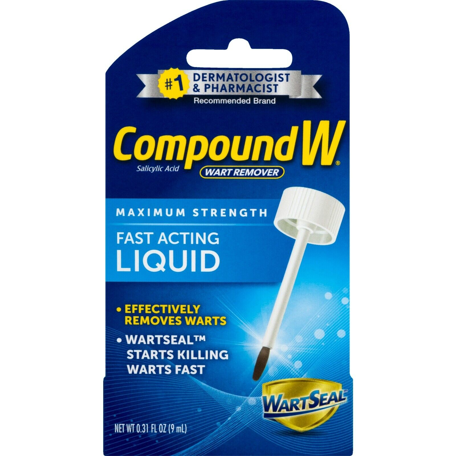 New Compound W Maximum Strength Wart Remover Fast Acting Liq