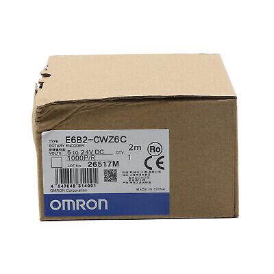 Omron Rotary Encoder E6b2-cwz6c 1000pr Dc 5v-24v One Year Warranty