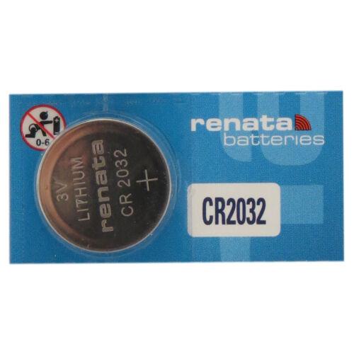 100-Pack CR2032 Renata Lithium 3 Volt Lithium Coin Cell Batt