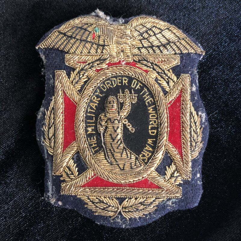 Vintage Military Order of the World Wars Pin / Patch
