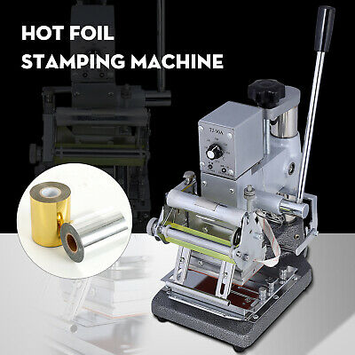 Hot Foil Stamping Machine Bronzing For Pvc Id Credit Card With Foil Paper