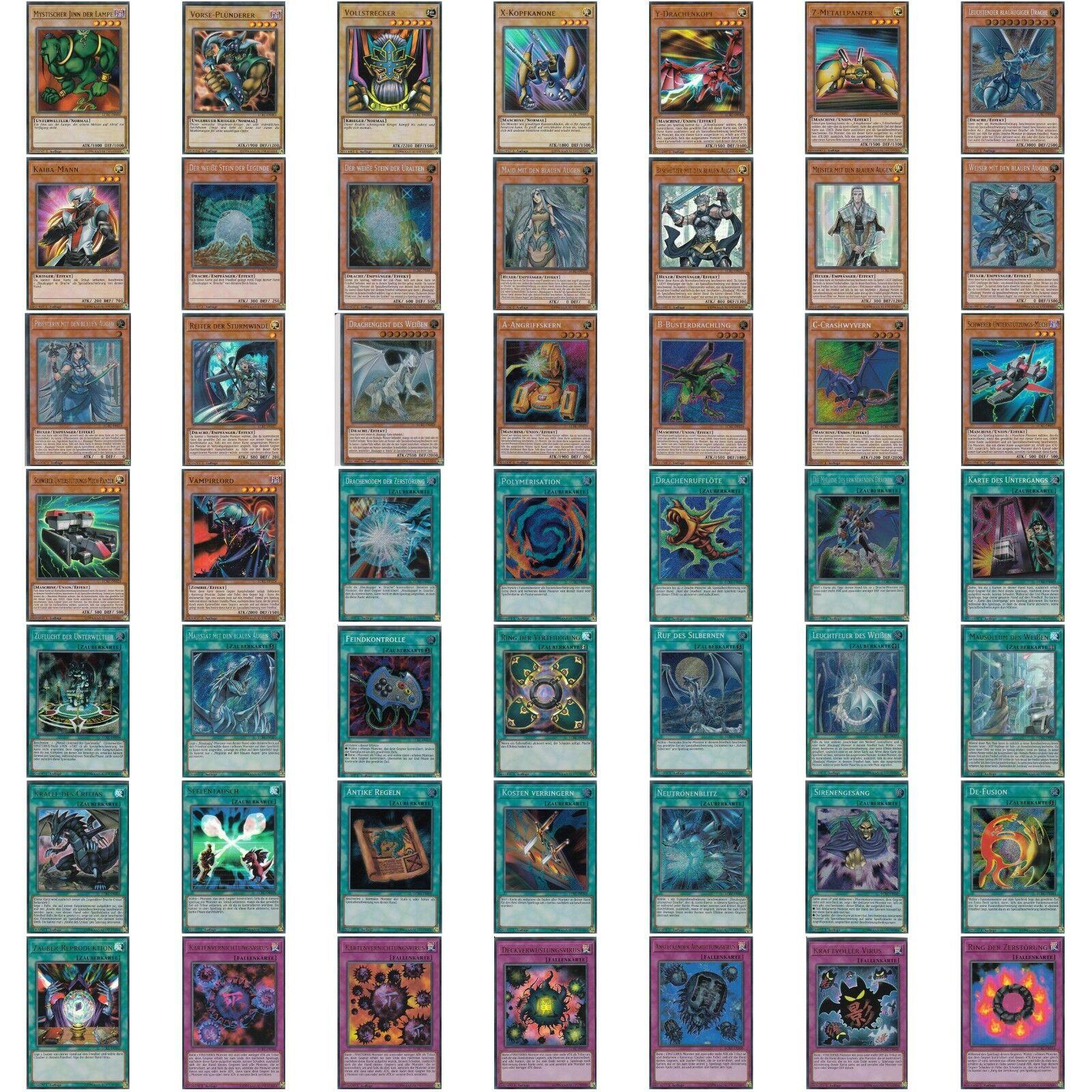 Yugioh Legendary Collection Kaiba Box  | Einzelkarten Deutsch Auswahl | LCKC-DE