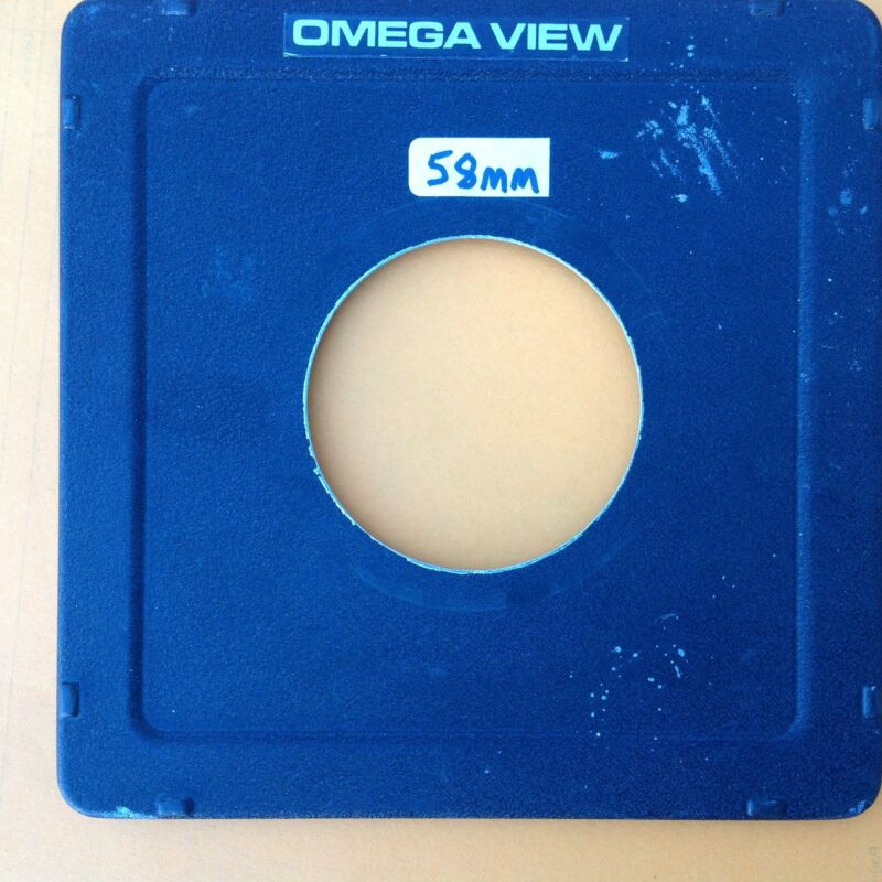 Omega View lens board, #3 Copal, 65mm