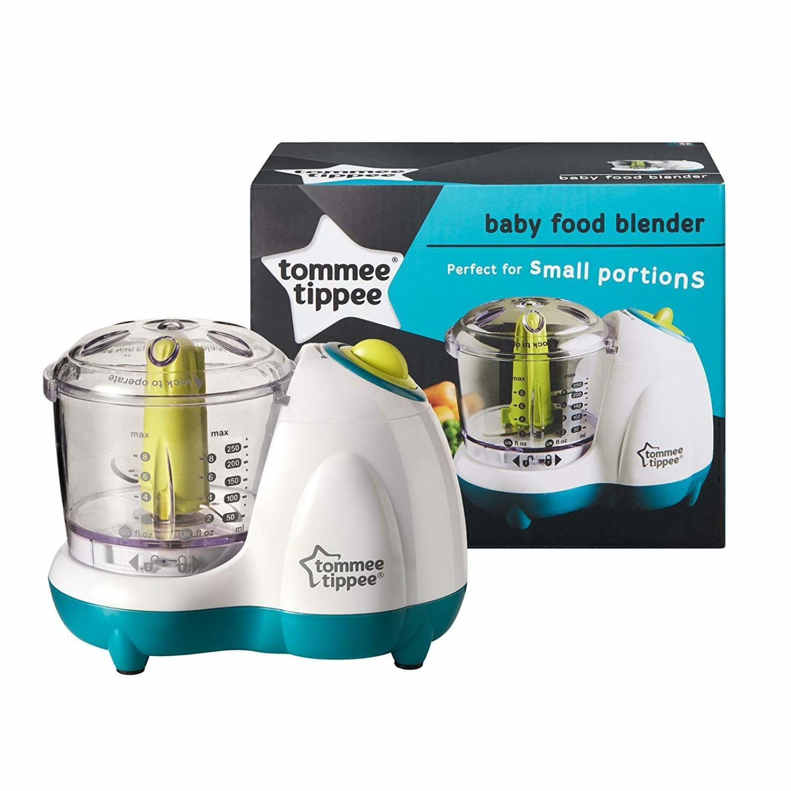Baby Food Maker Blender Bullet Processor Tommee Tippee Toddler Small New