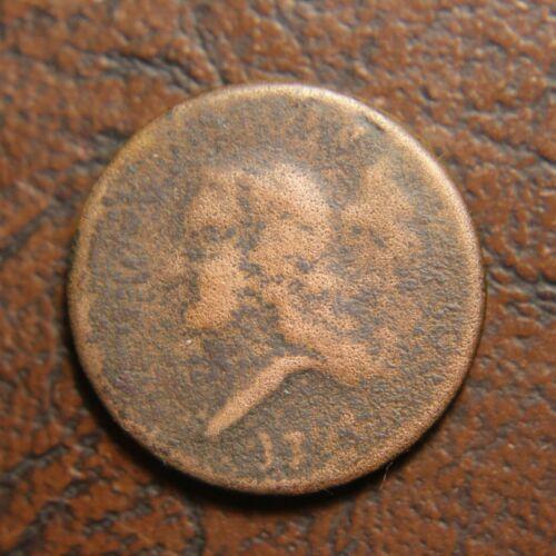 1793 Liberty Cap Half Cent, C-2