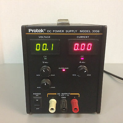 Protek Model 3006 Dc Power Supply