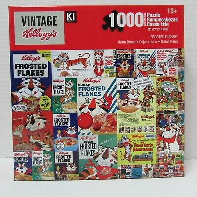 Vintage Kellogg's Puzzle - Frosted Flakes - 1000 pieces - NEW sealed