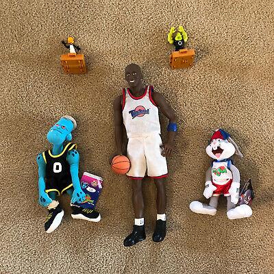 Michael Jordan 16 Inch  Figure Doll Space Jam Warner Bros With Bugs Bunny