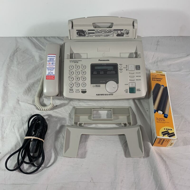 Panasonic KX-FP80 Compact Plain Paper Fax And Copier Telephone System Extra Film