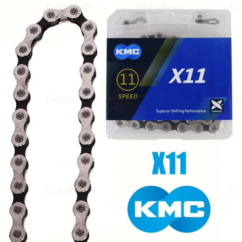 KMC X11 11-Speed Stretch-Proof Bike Chain 118L X11.93 Fit For Campy SRAM Shimano